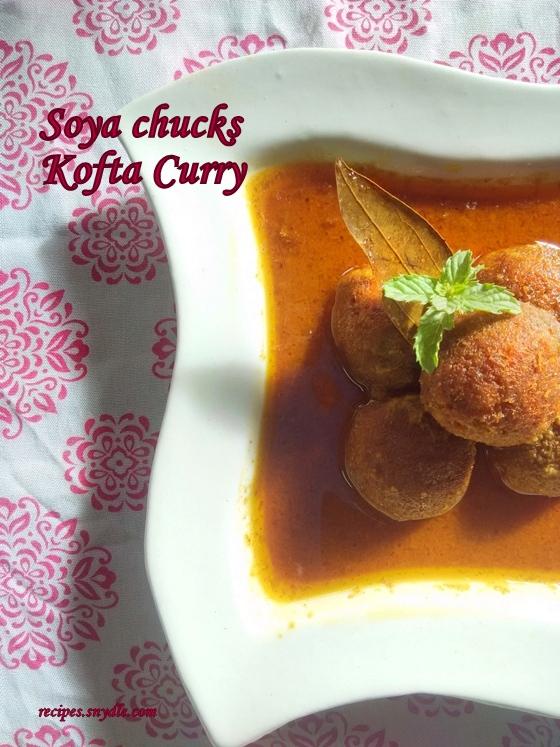 Restaurant style veg kofta curry