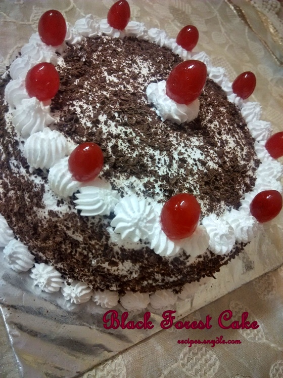 black forest cake easy recipe