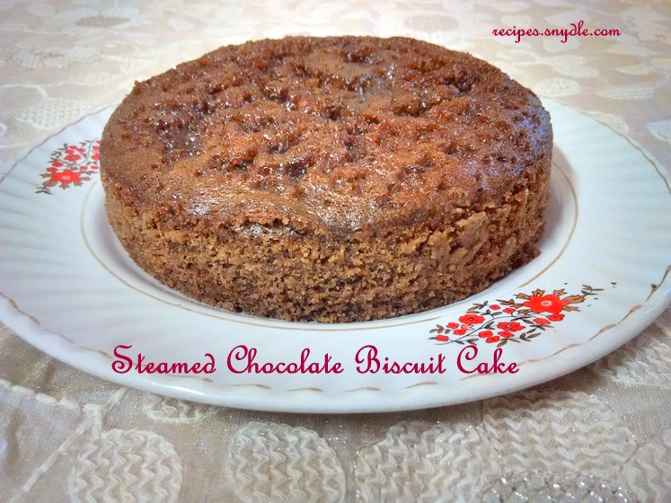 cake recipe at home without oven