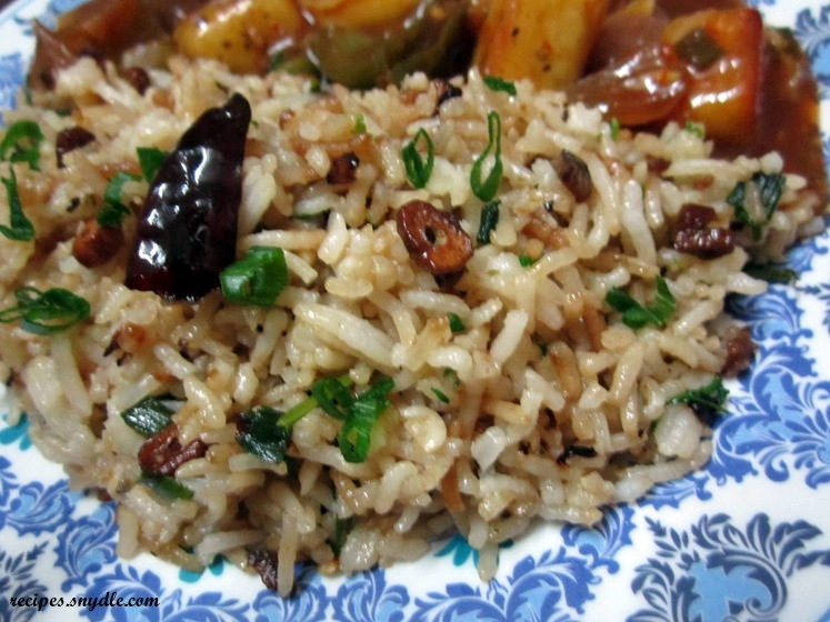 Burnt Garlic Rice Recipe