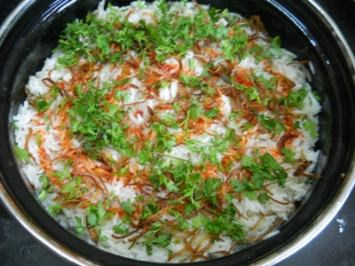 dum chicken biryani recipe