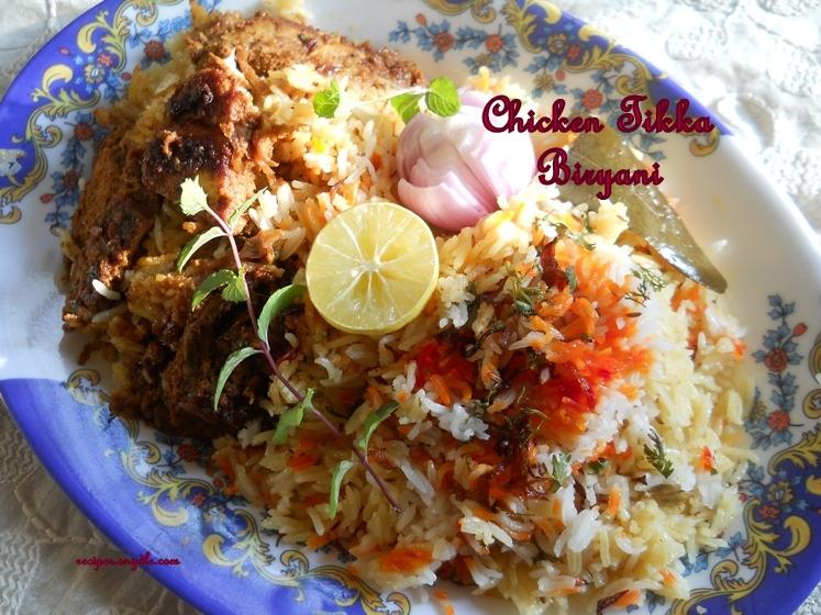 easy chicken tikka biryani recipe