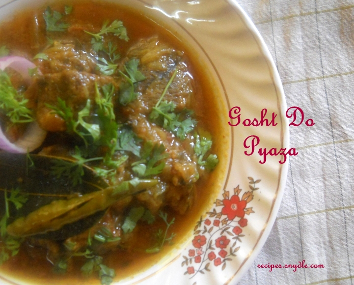 easy ghost do pyaza recipe