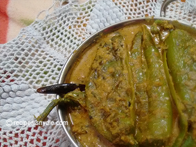 healthy homemade hari mirch ka salan