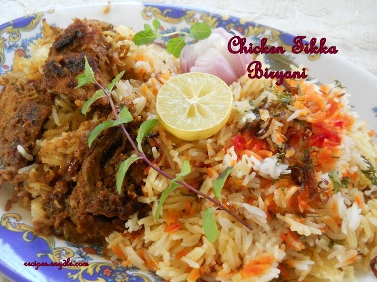Chicken Tikka Biryani Recipe Chicken Dum Biryani Recipe.
