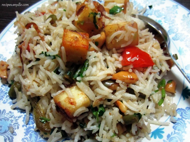 how to cook pulao with leftover rice
