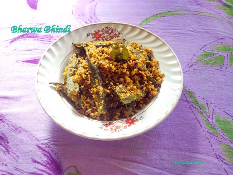how to make bharan bhindi resipe