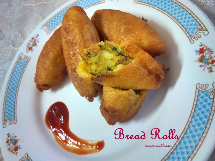 indian stuffed bread roll recipe