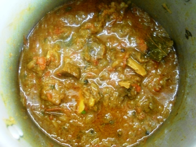 mutton do pyaza discription