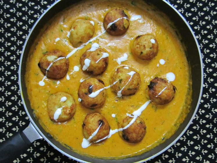 paneer and aloo kofta