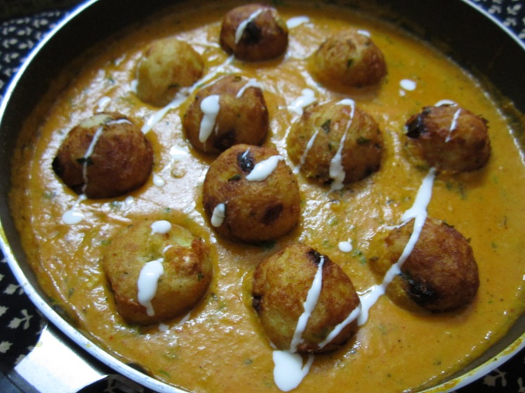potato and paneer kofta recipe