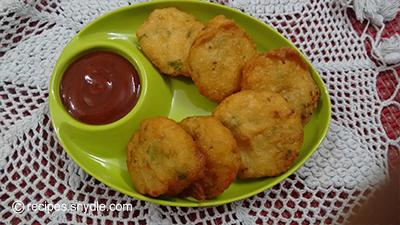 potato paty indian style