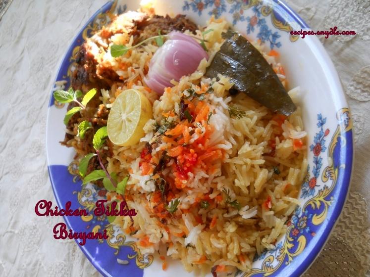 recipe for chicken tikka recipe