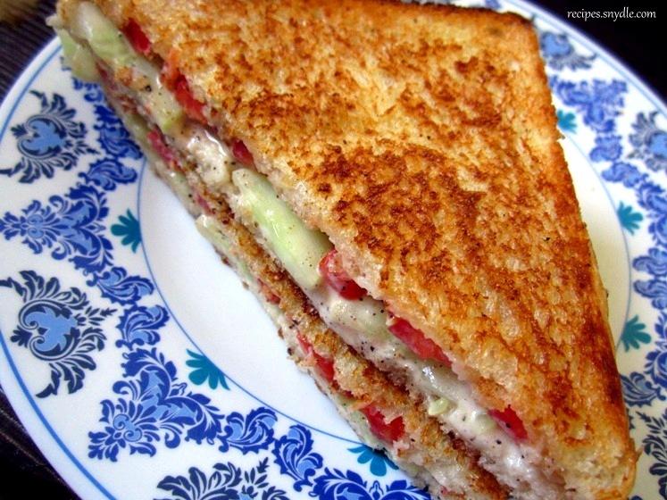 recipe of cucumber sandwich