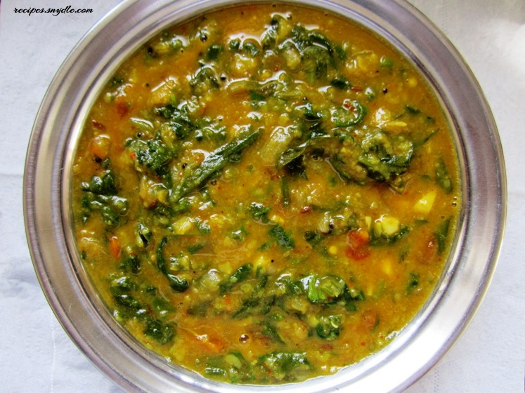 Image result for dal palak recipe