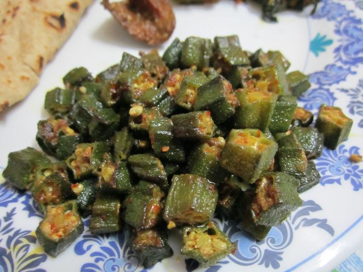 Stir-Fried Okra Recipe / Stir-Fried Bhindi Recipe