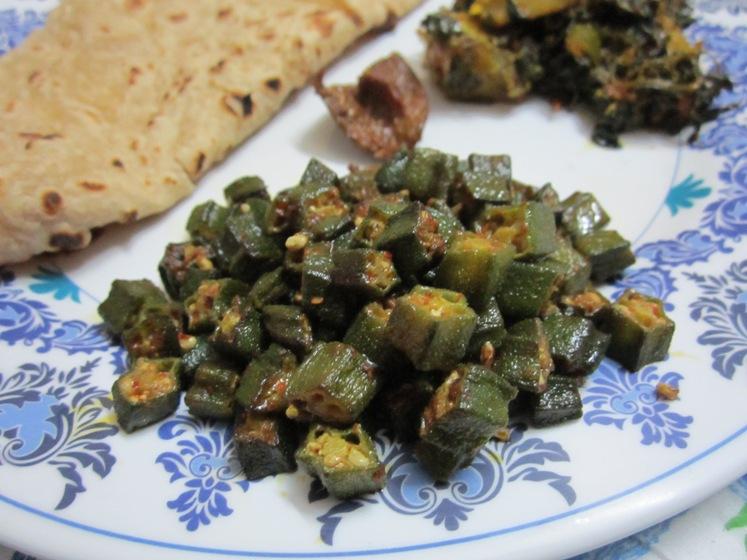 sindhi style bhindi fry