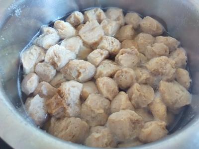 soya bean kofta