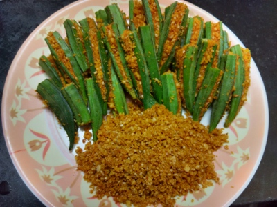 stuffed bhindi dishes