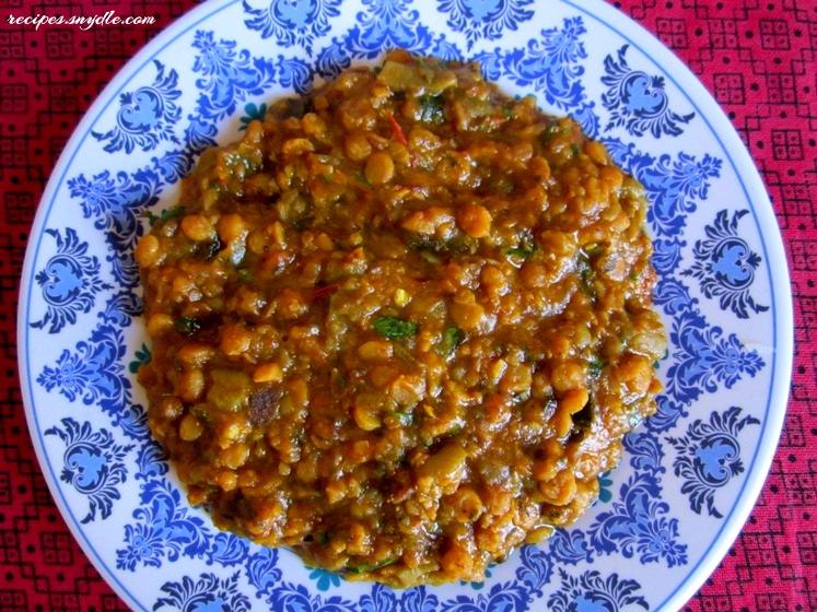 Dal Basar Recipe / Ridge Gourd with Chana Dal Recipe / Sindhi Style Tori Recipe