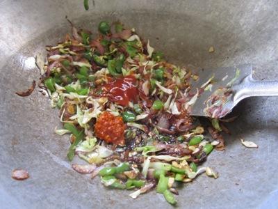 vegetable manchurian rice recipe