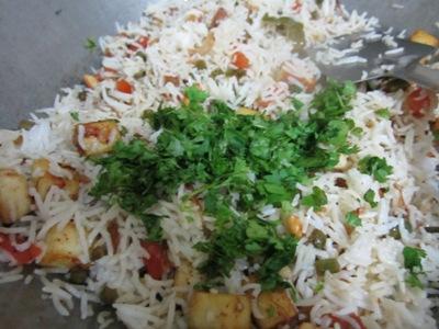 vegetable pulao recipe