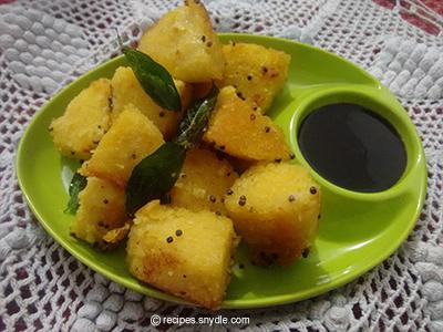 yummy dhokla