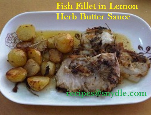 Cream-Dory-In-Lemon-Herb-Butter-Sauce-