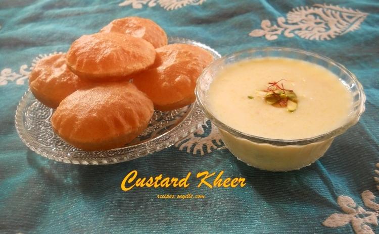 Custard Kheer