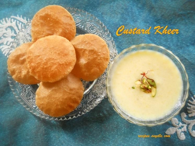 custard ki kheer