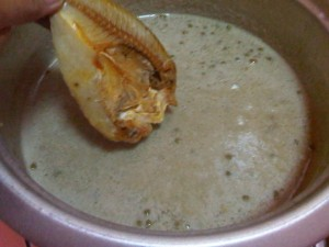 ginataang monggo with dried fish (2)