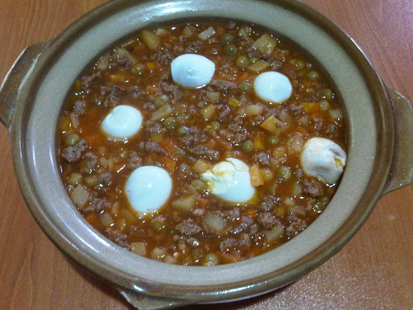 pork giniling with quial eggs (4)