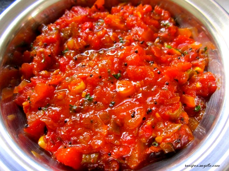 recipe of tomato chutney