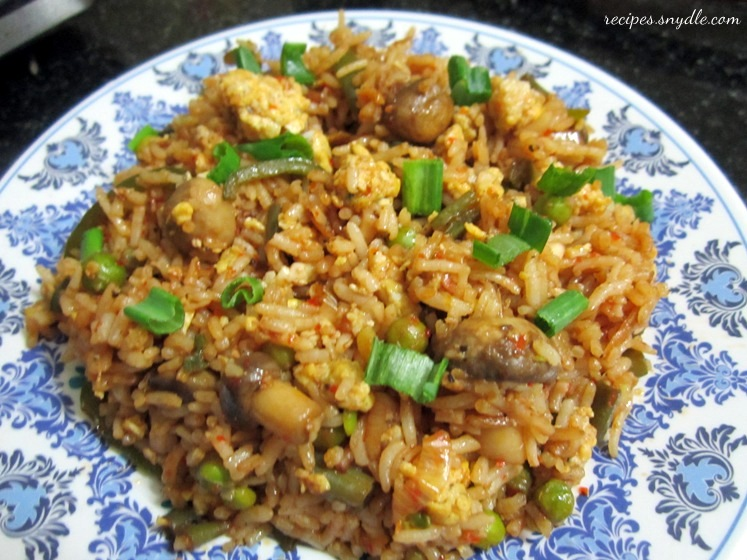 schezwan rice recipe