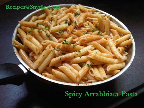 spicy arrabiata pasta (4)