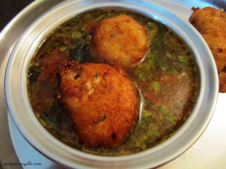 how to make vada rasam