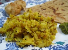 Besani Patta Gobi Recipe / Besani Bandh Gobi / Cabbage Curry with Gram Flour Recipe