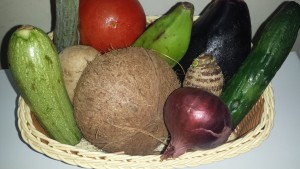 Basket vegtable