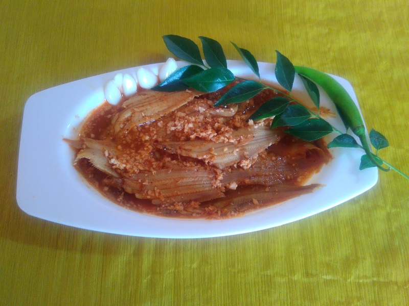 Kerala style nangu curry