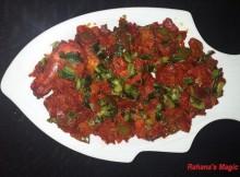 Spicy Chili Prawns