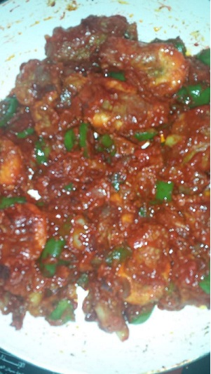 spicy chilli prawns recipe