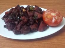 Spicy Chicken Sukka Recipe