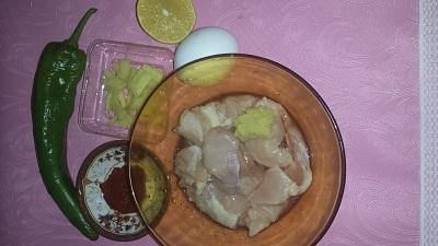 ginger chicken 1