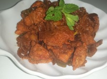 Ginger Chicken Easy& Spicy