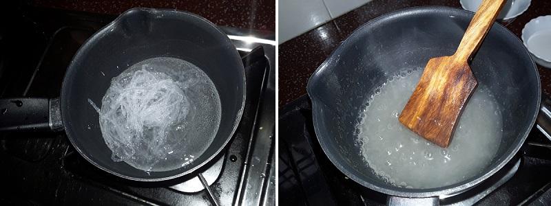 greape coconut milk pudding 2
