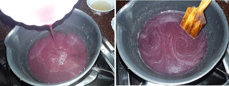greape coconut milk pudding 4