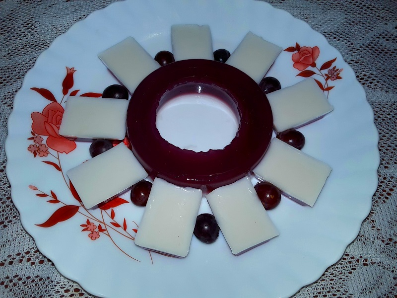 greape coconut milk pudding 8