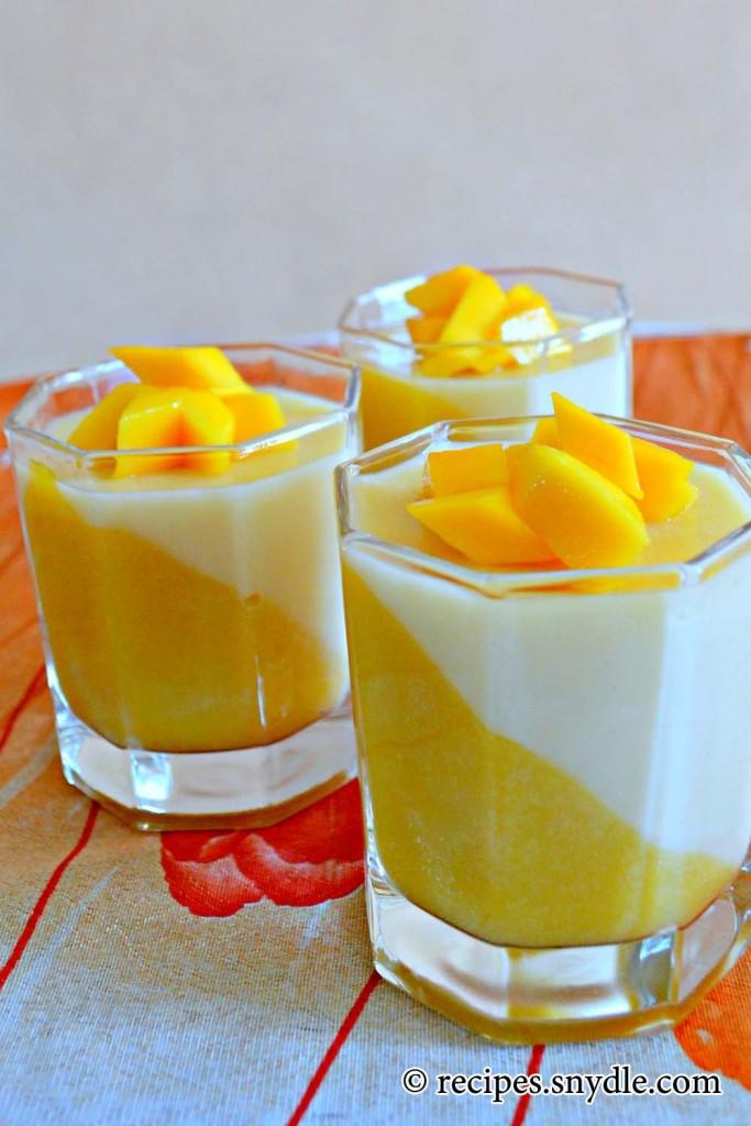 jasmine and mango panna cotta come learn how to make mango panna cotta ...
