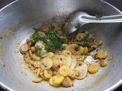 mushroom baby corn recipe