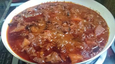 mutton curry thayar